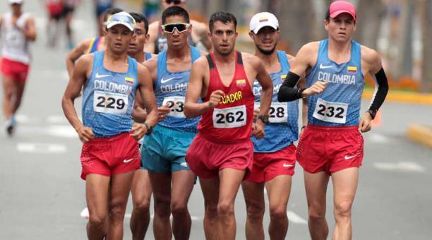 El ecuatoriano Claudio Villanueva defenderá su corona este domingo ante latinos de buen nivel, en el concurso de 50 kilómetros de la Copa Panamericana de marcha