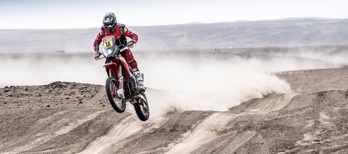 El estadounidense hizo el mejor tiempo del día en la etapa que se disputó entre Arequipa y Moquegua, de 511 kilómetros