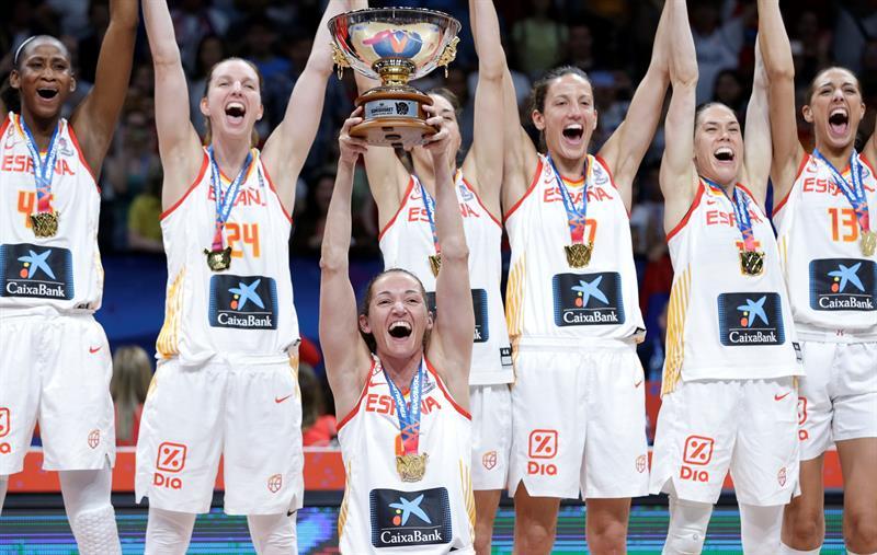 Las españolas vencieron a Francia y son campeonas del Eurobasket