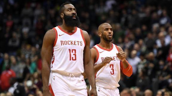 James Harden volvió con los Rockets y mantuvo su condición de líder encestador al aportar 28 puntos que les ayudaron a ganar por 108-93 a los diezmados Spurs de San Antonio