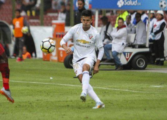 """El jugador de Liga de Quito se quedará cuatro temporadas en el club que fue su """"prioridad"""""""