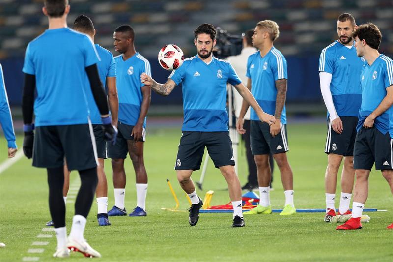 El español aseguró sentirse muy feliz y descartó su salida del equipo merengue