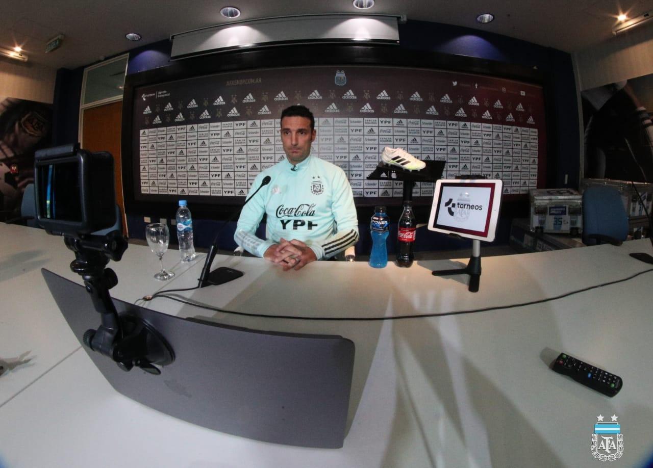 Lionel Scaloni analizó el duelo de Eliminatorias contra Ecuador, en La Bombonera