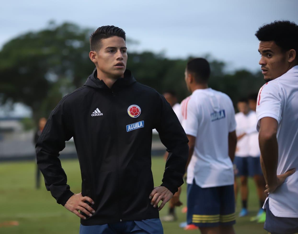 El Real Madrid confirmó la lesión del colombiano, que no estará con su selección tampoco para el amistoso con Ecuador
