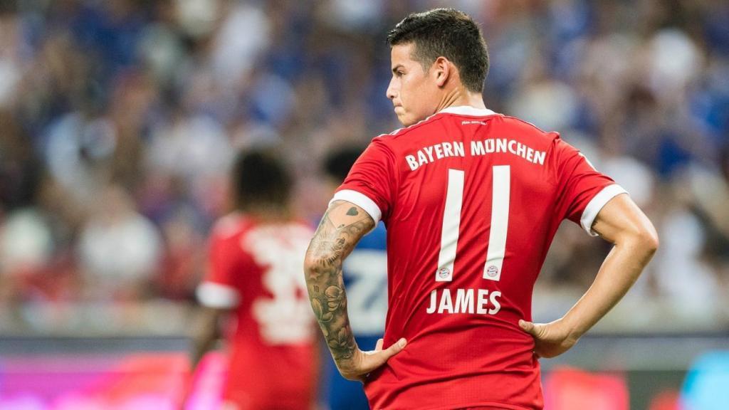 """""""James se juega su futuro, él tiene que tener un gran rendimiento"""", dijo Kovac de cara al primer partido de la Bundesliga tras la pausa de invierno"""