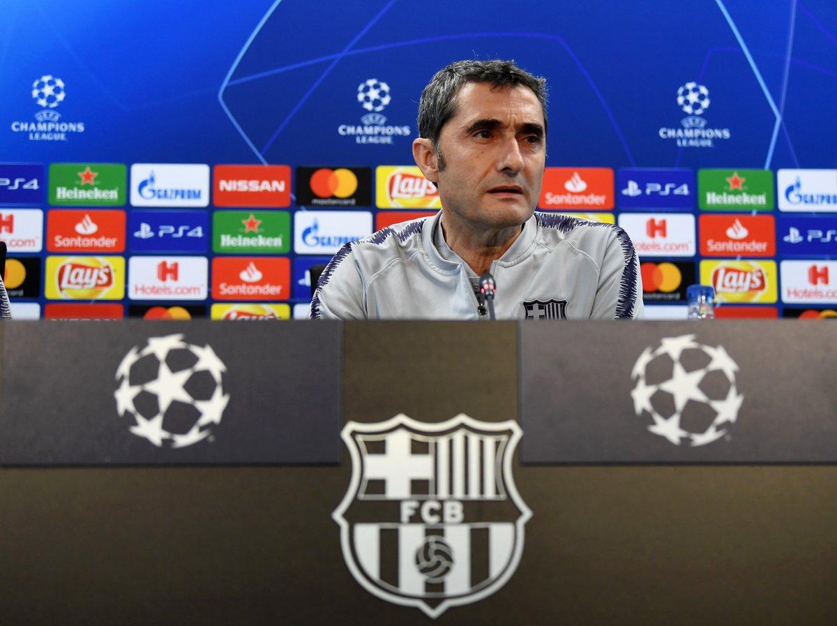 """En la comparecencia previa al duelo de vuelta, Valverde señaló que lo que """"más teme"""" de su rival es el """"espíritu que tienen con jugadores que si les das espacio son contundentes"""""""