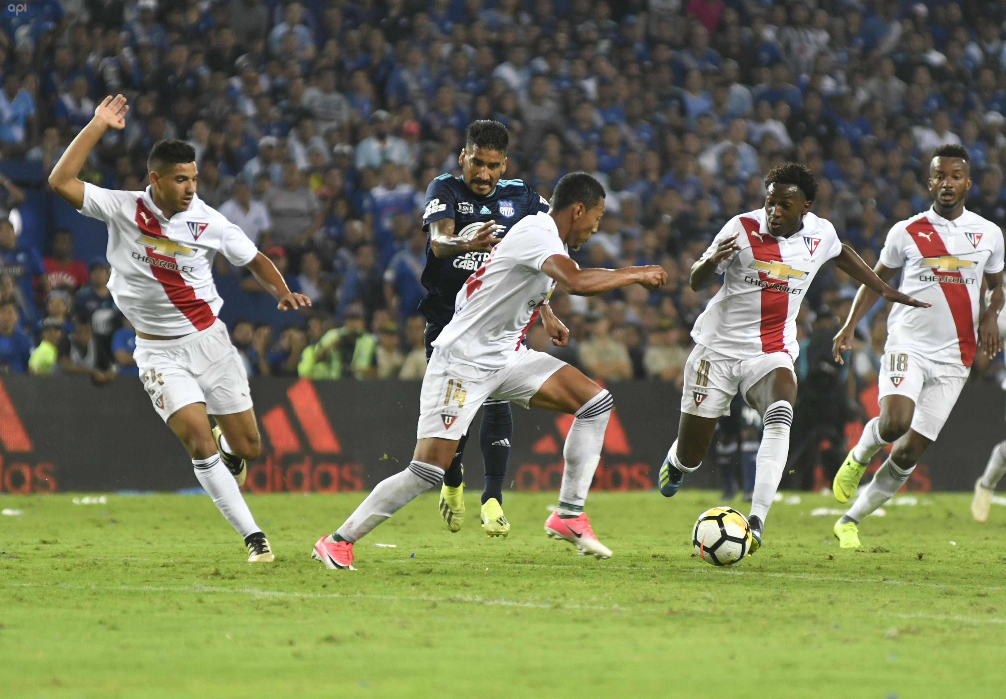 Las entradas para ver a Liga frente a Emelec saldrán a la venta este sábado horas del partido