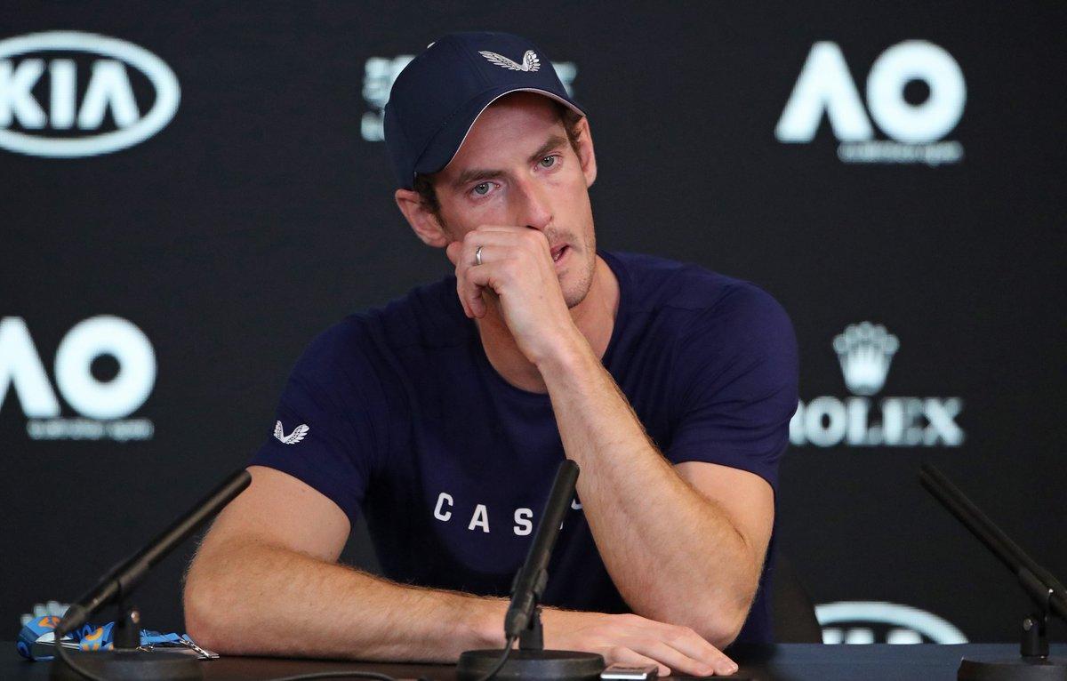 El británico, actual 230 del mundo, rompió a llorar en la rueda de prensa previa al Open de Australia al explicar el calvario sufrido en el último año tras ser operado de la cadera