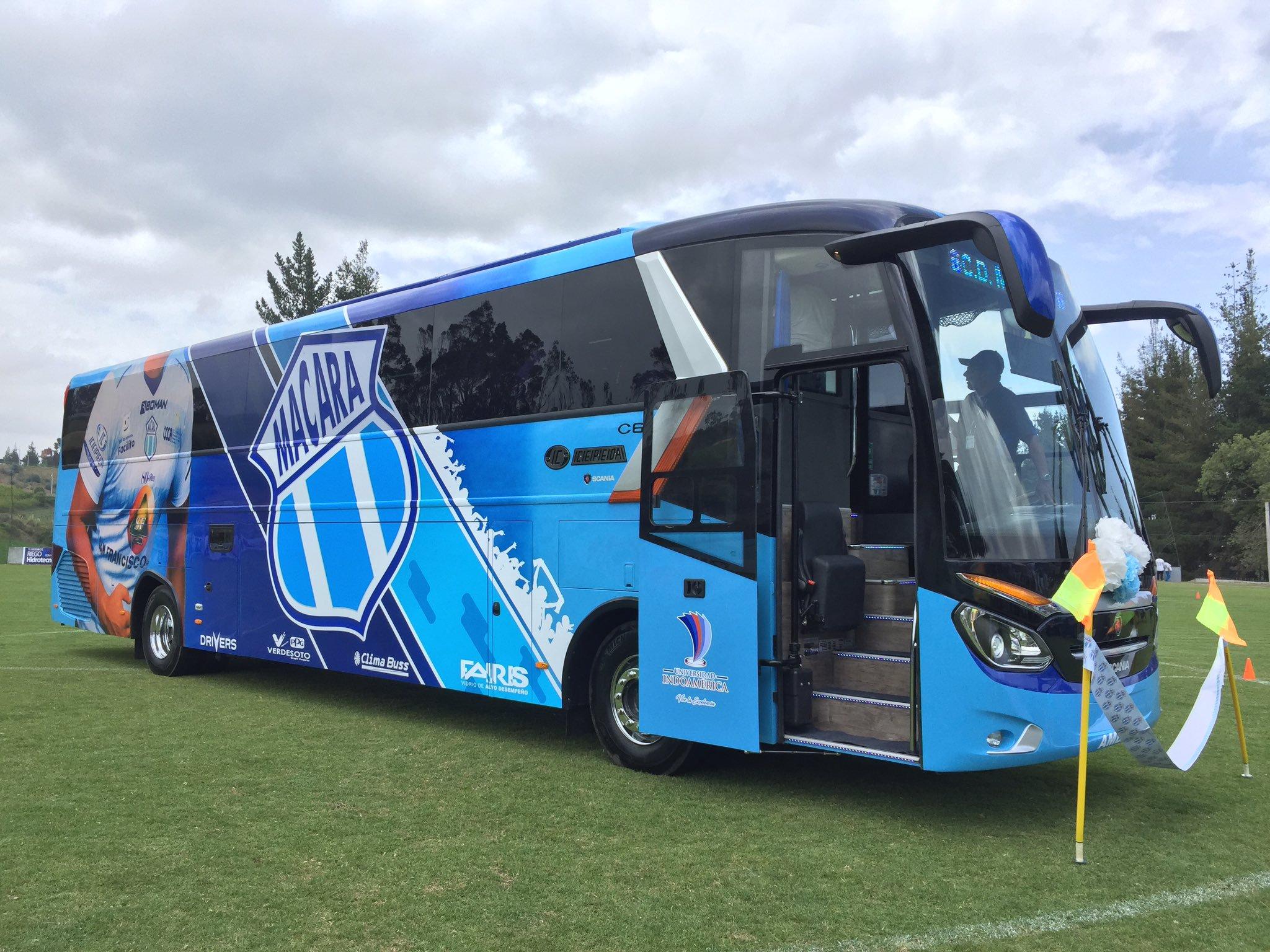 El cuadro ambateño cuenta con su propio bus y con las comodidades de su nueva Residencia Deportiva