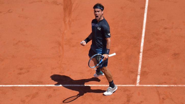 """El jugador nacido en Taggia entró en el """"top 10"""" de la ATP gracias a la tercera ronda alcanzada en el recién terminado Roland Garros"""