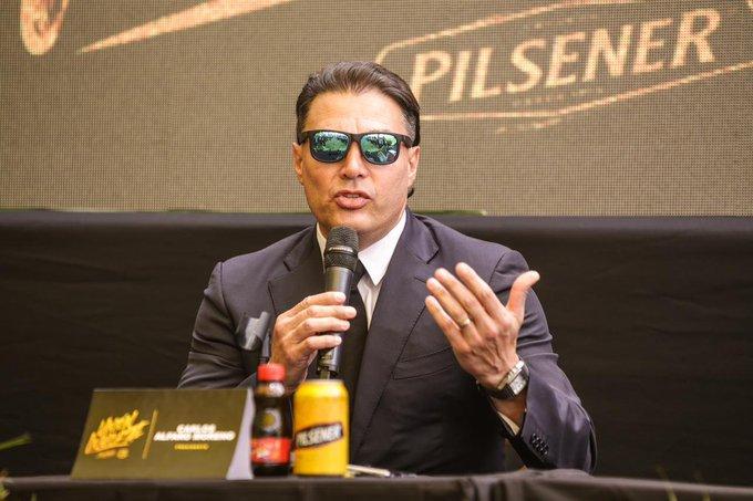 El 'Ídolo' dio a conocer la alianza con la principal cadena cervecera del país