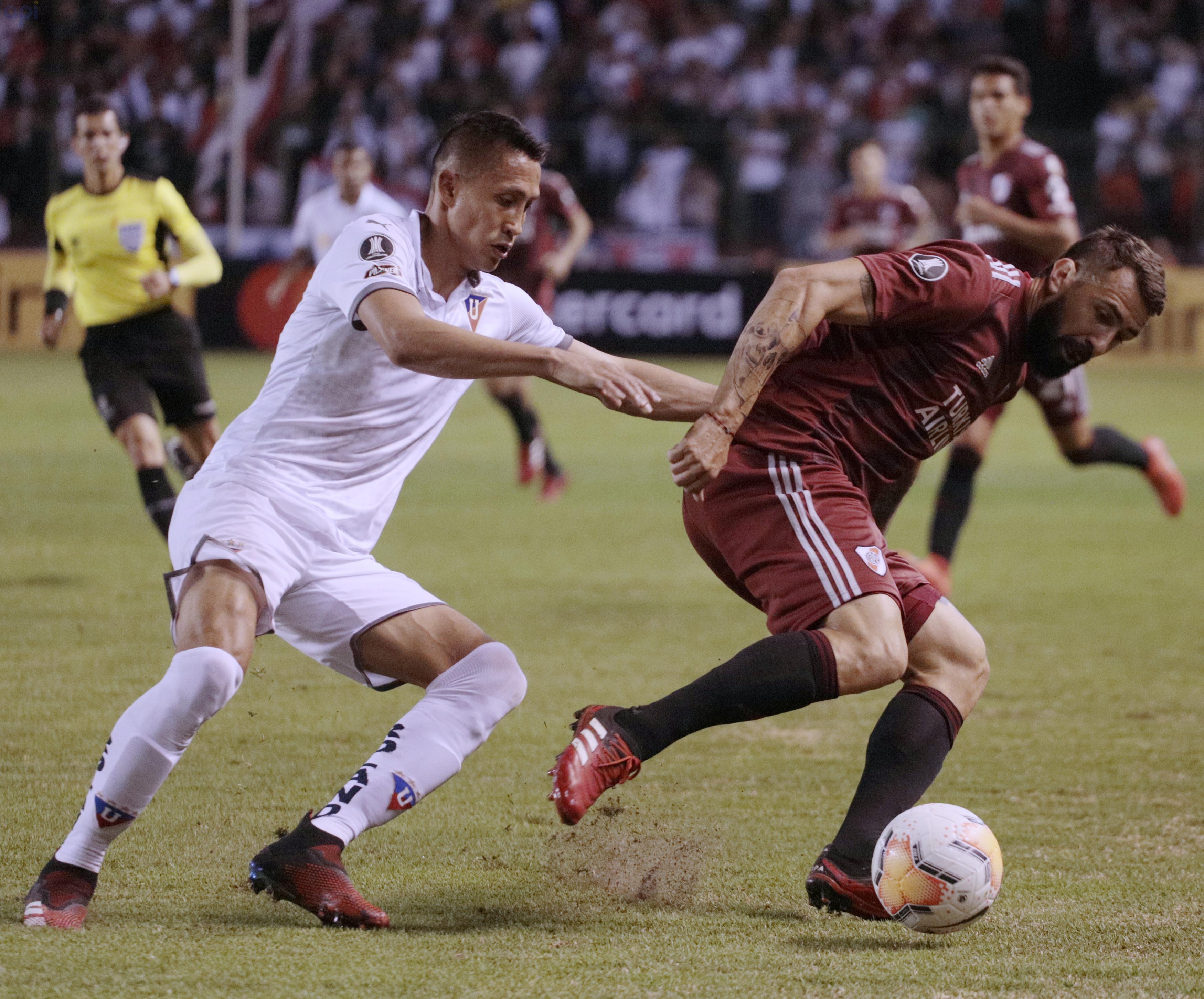 Franklin Guerra confesó que sí le interesa conservar el invicto albo Barcelona, en el estadio Rodrigo Paz Delgado