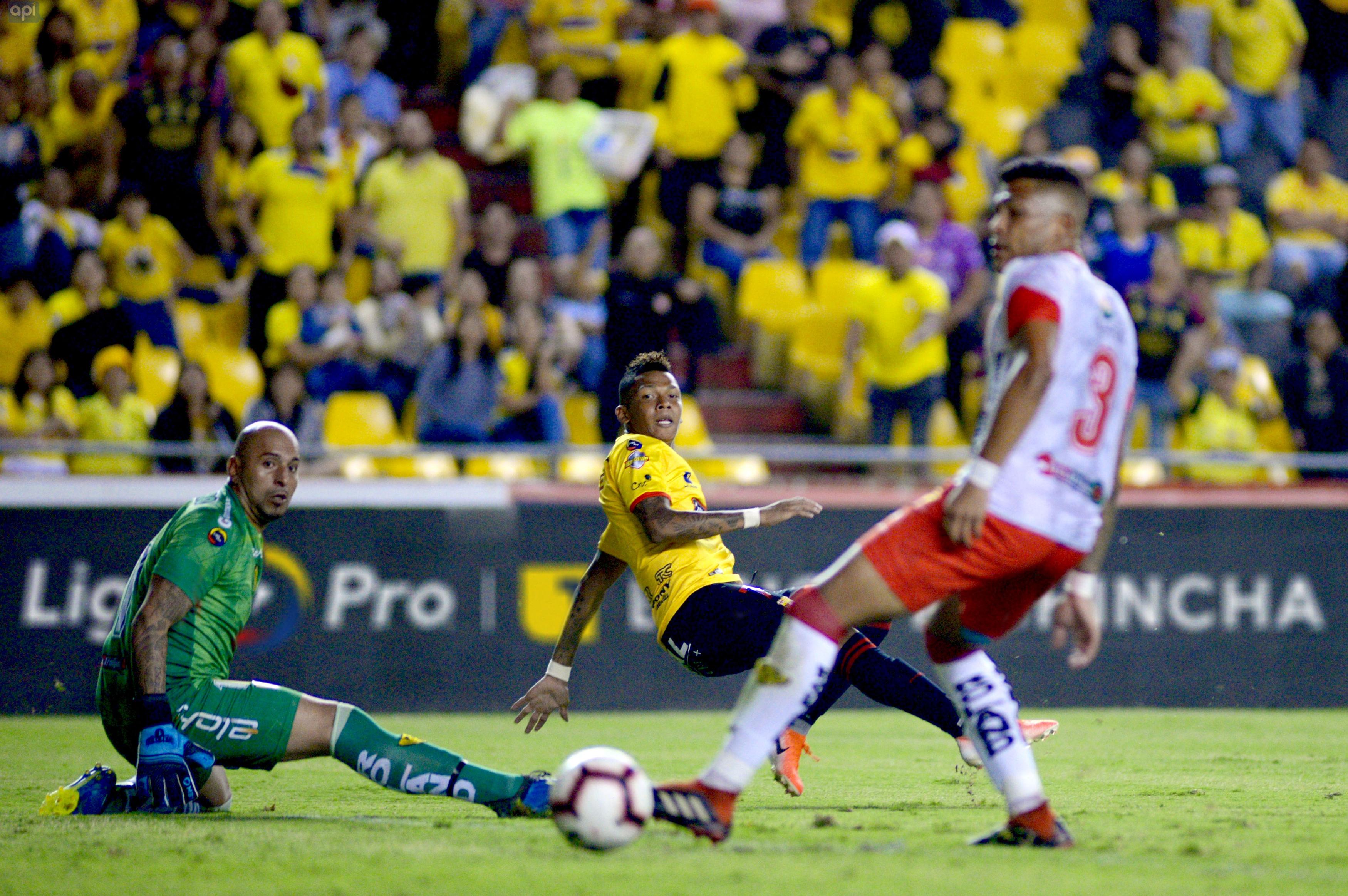 El centrocampista del 'Ídolo' sumó sus primeros minutos y celebró la remontada ante Fuerza Amarilla