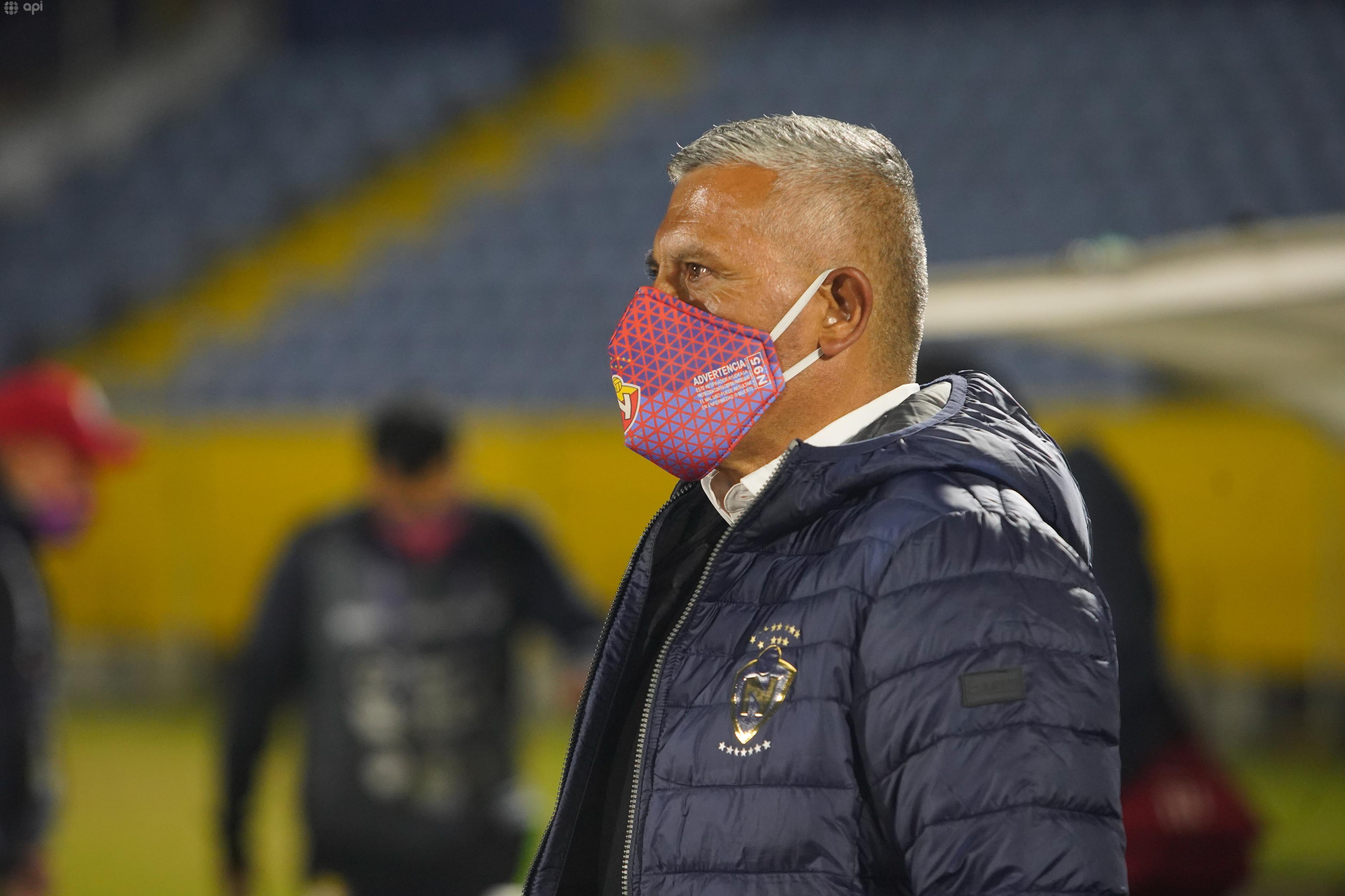 Jorge Montesino se refirió a la victoria sobre Emelec y ya piensa en lo que será el duelo frente a Macará