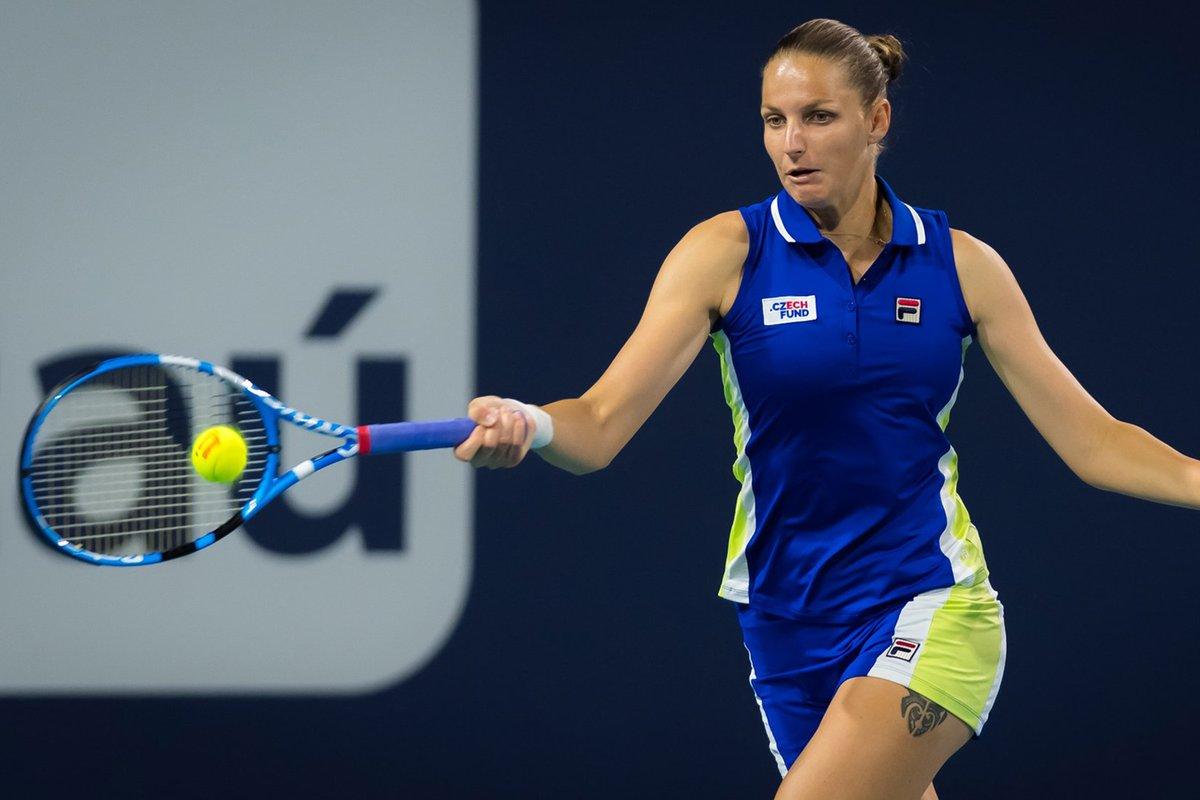 En este circuito, el primer título del 2019 lo conquistó la checa Karolina Pliskova, cuarta en el ránking