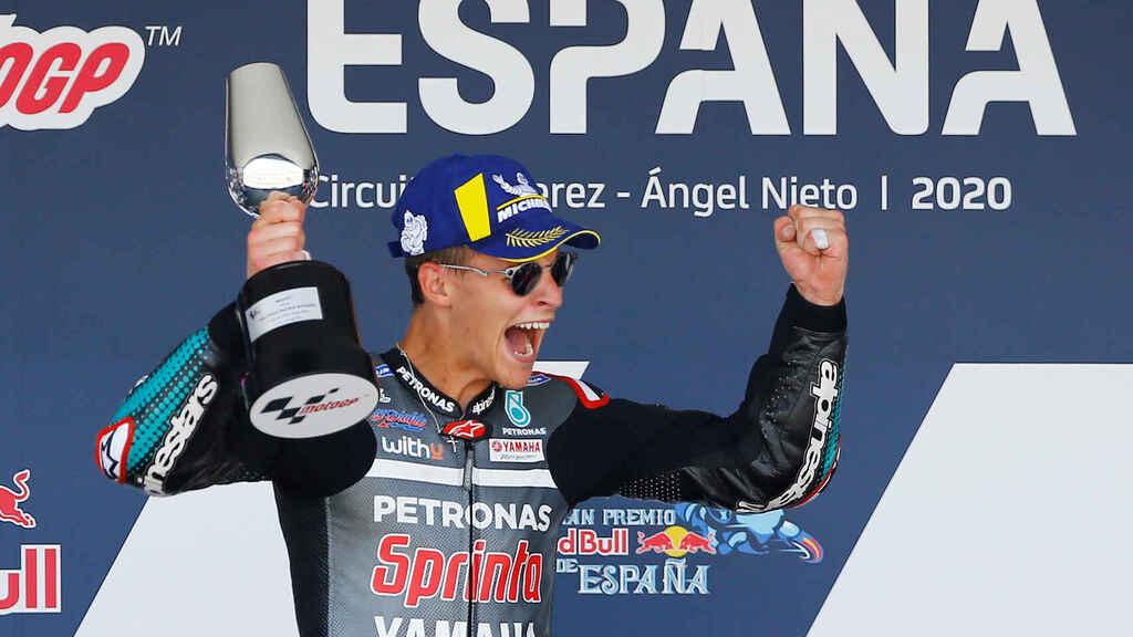 La temporada empezó en España con una sorpresiva victoria del piloto francés