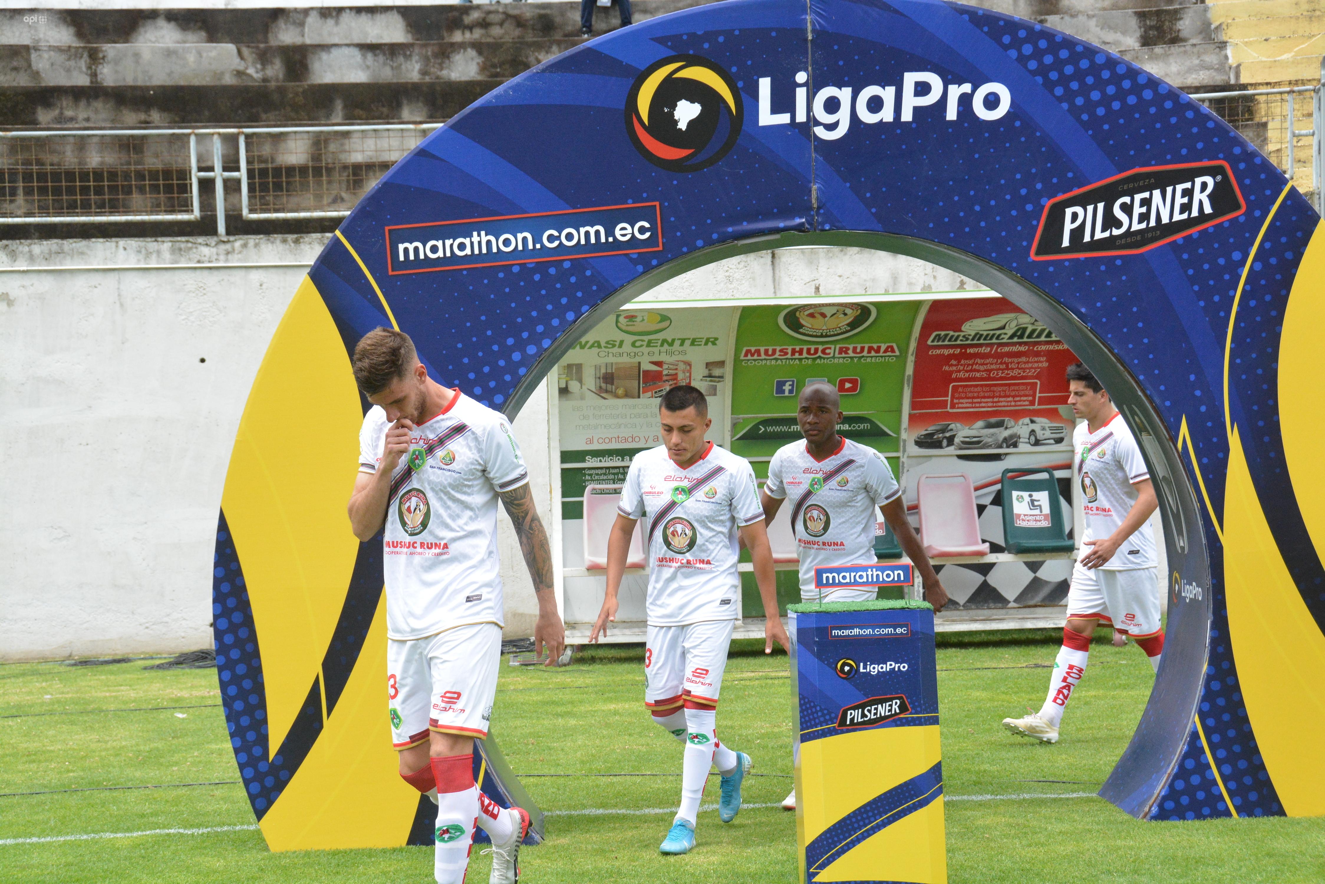 Luis Chango espera que los clubes del Astillero jueguen ante Mushuc Runa en Echaleche