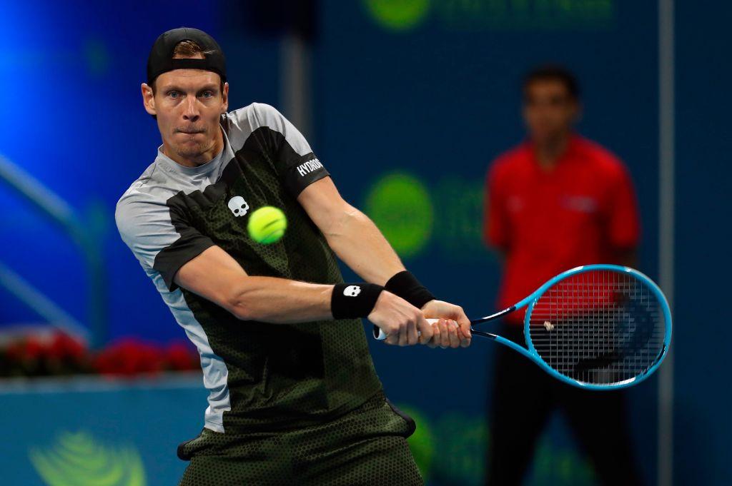 El checo regresa a la final de Doha, que ya disputó en el 2015, cuando perdió con David Ferrer