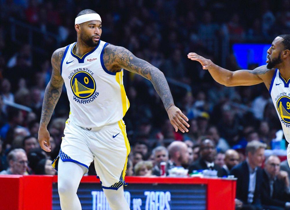 Después de sufrir una derrota humillante frente a los Suns de Phoenix, los Warriors recuperaron su mejor versión y también la del pívot DeMarcus Cousins, que logró 27 puntos