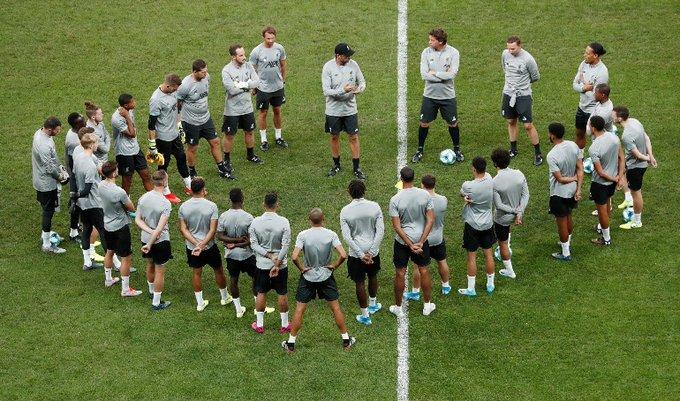 El alemán está concentrado en lo que será el partido de la Supercopa contra el Chelsea
