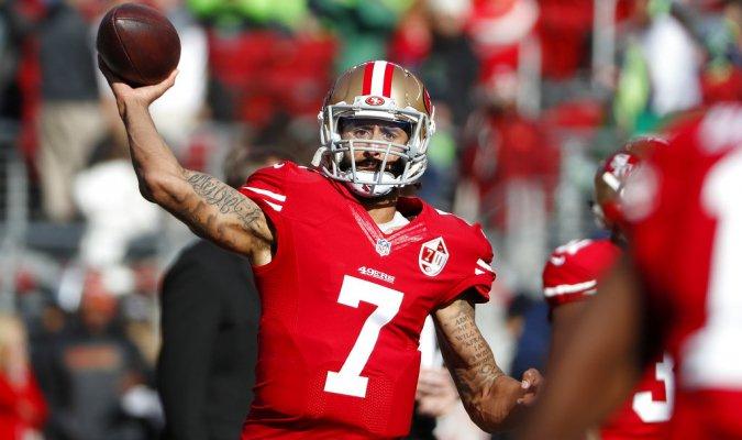 Kaepernick no ha sido firmado por ningún un equipo de la NFL desde que se retiró de su contrato con los 49ers de San Francisco en marzo de 2017