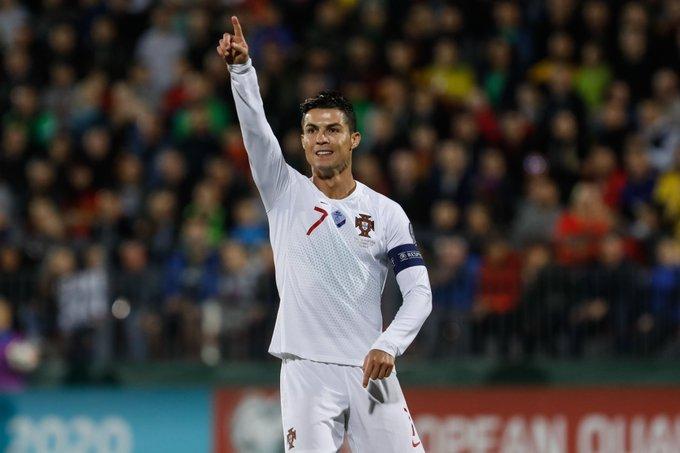 El portugués leva 93 tantos con la selección y su próximo objetivo es superar el récord del iraní Ali Daei, quien marcó 109 goles en 149 partidos