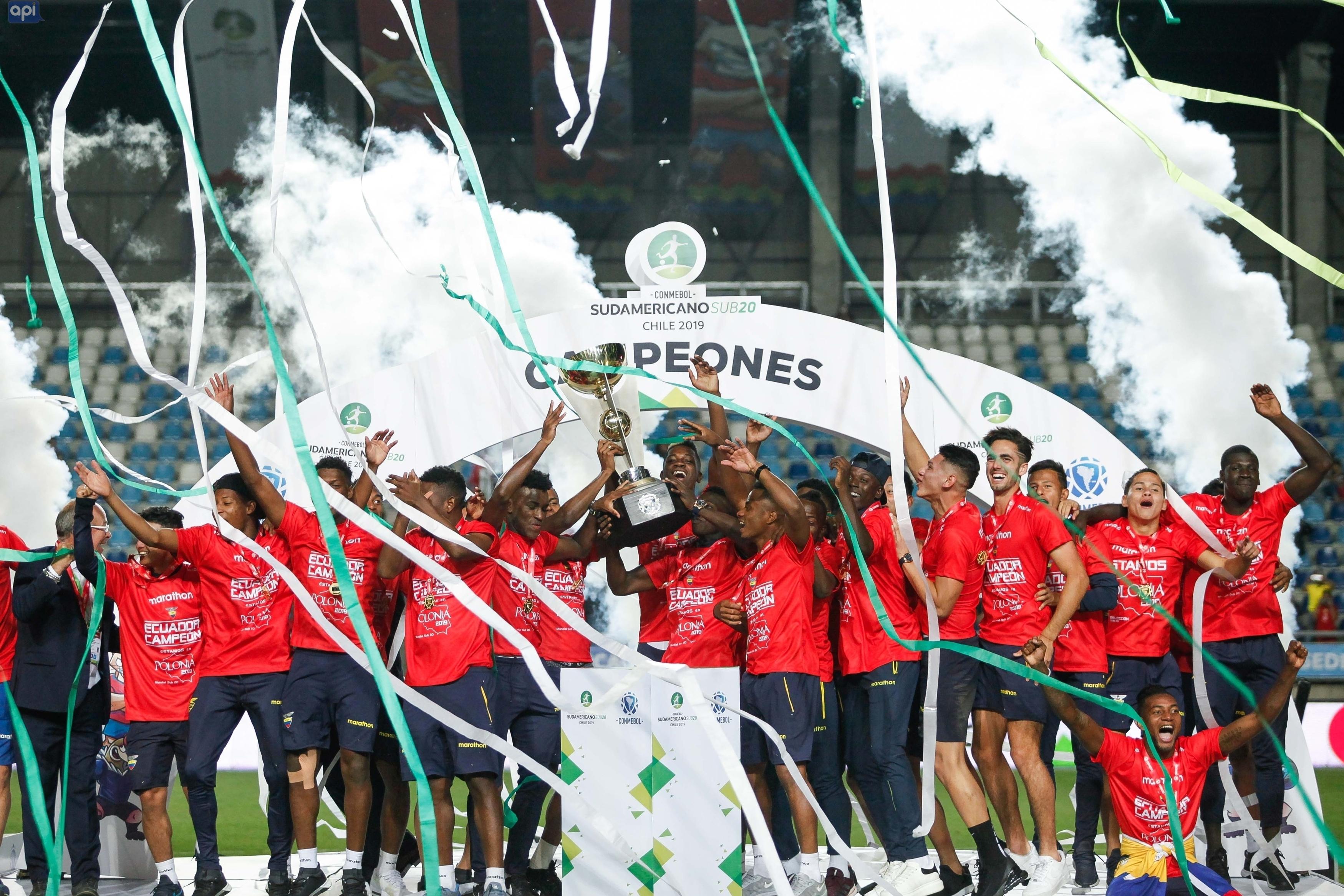 Diego Palacios, Jackson Porozo, Gonzalo Plata y Leonardo Campana figuran en el equipo más destacado del Sudamericano