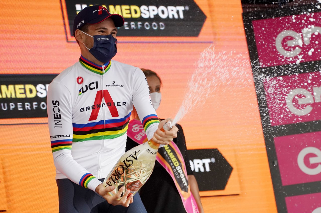 Se disputo una nueva etapa del Giro de Italia