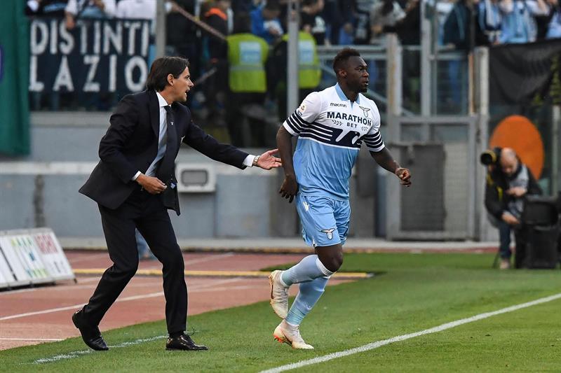 El ecuatoriano Felipe Caicedo se mantiene en el protagonismo en el Calcio italiano al anotar en la victoria de Lazio sobre el Udinese