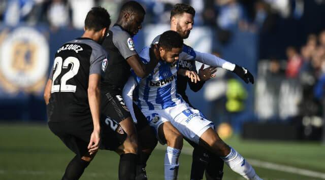 El Leganés no supo rematar el partido y el Sevilla tuvo como virtud no rendirse bajo la intensa niebla pese a todos los contratiempos y su discreto partido