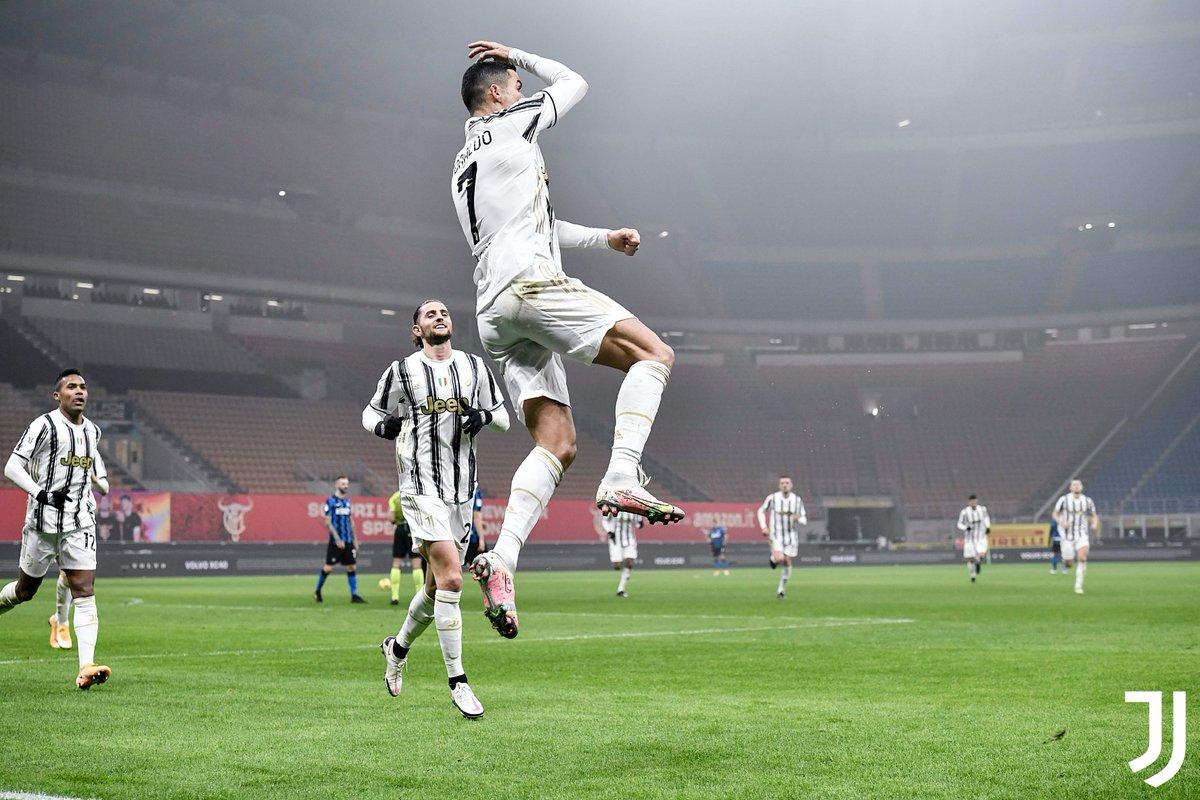 """El DT del cuadro merengue, sin embargo, dejó en claro que el luso es aún delantero de Juventus y """"lo están disfrutando"""""""