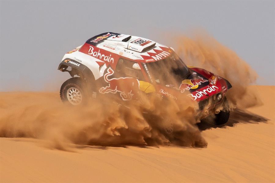 El español acumuló su tercera etapa ganada en la actual edición del Dakar