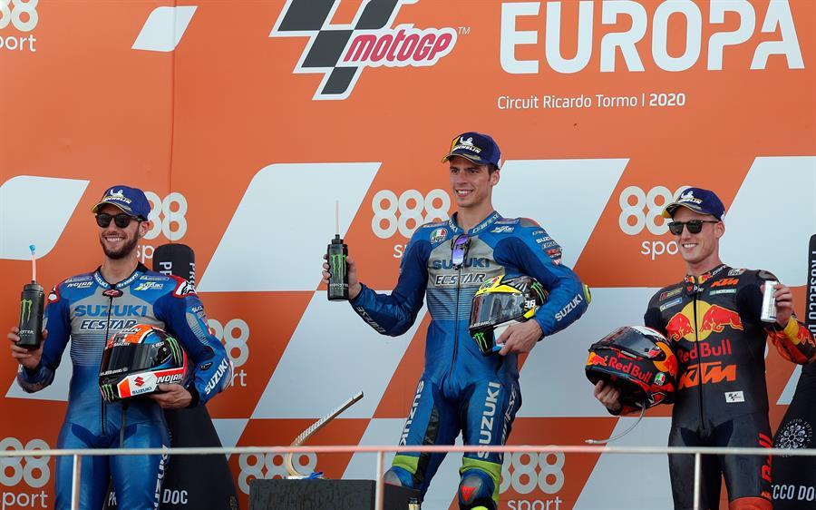 El español se impuso con categoría en el Gran Premio de Europa