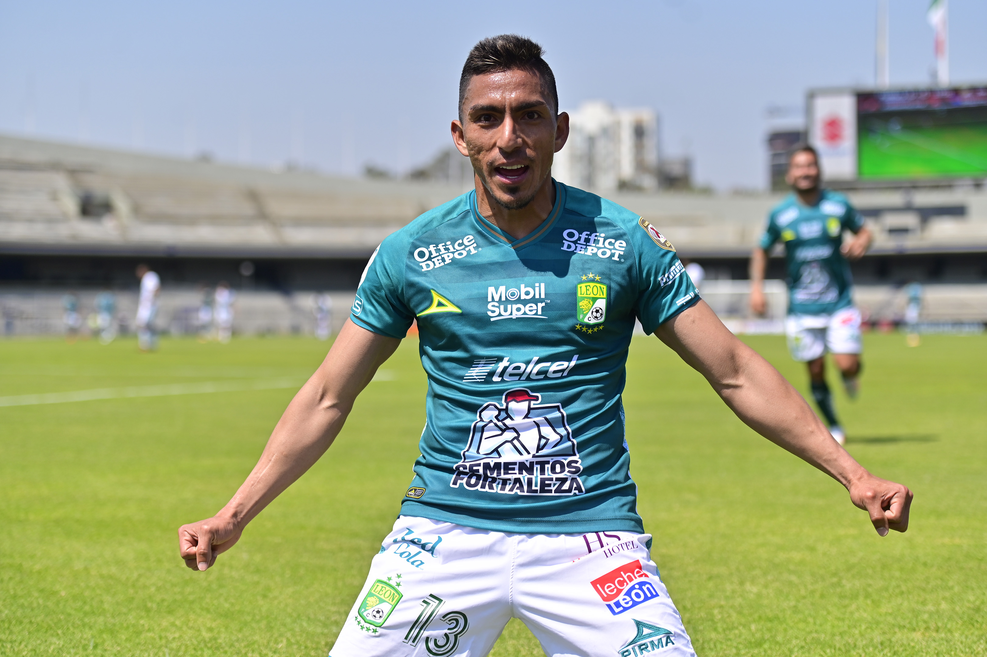 El delantero ecuatoriano registró su primer tanto en el Torneo Clausura