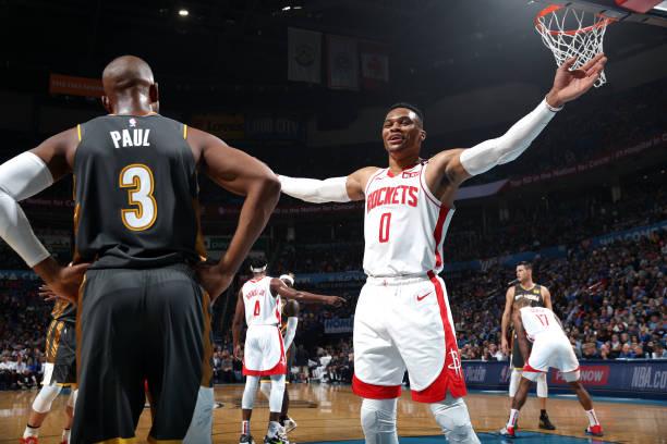 El base estelar no pudo evitar la derrota de los Rockets de Houston ante su exequipo (113-92)