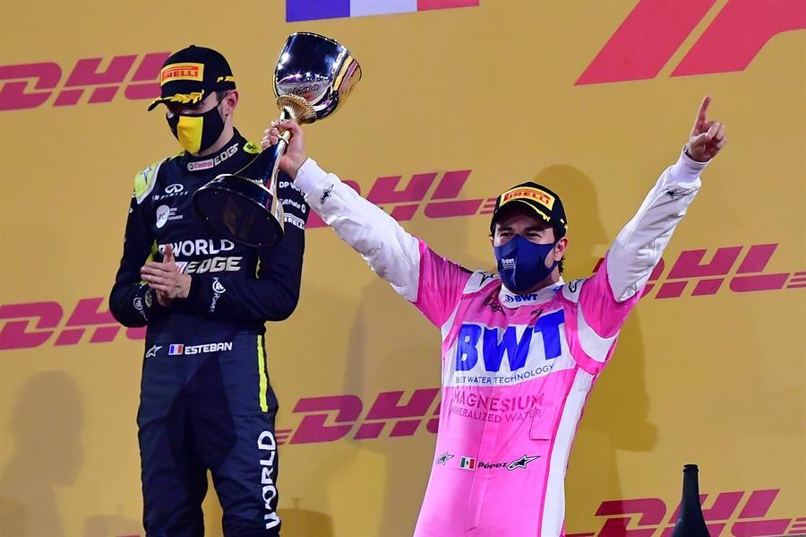 El mexicano logró un sólido triunfo, su primero en la Fórmula 1