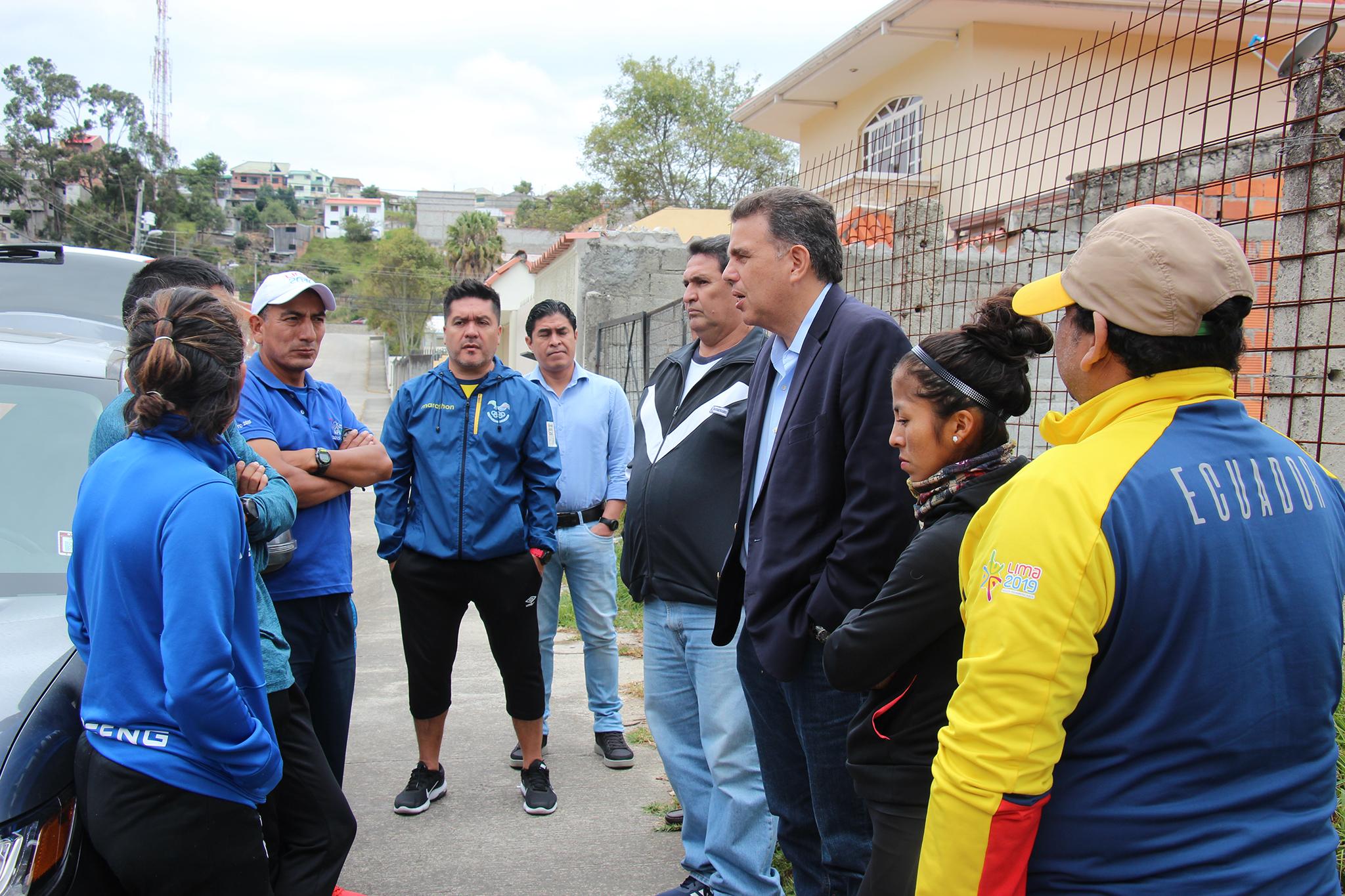 """El presidente del Comité Olímpico Ecuatoriano reconoció que """"conviene"""" el cambio de fechas por el bien de los deportistas"""