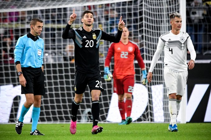Alario y Ocampos pusieron el empate de la Albiceleste, que ahora se enfoca en el duelo ante Ecuador