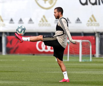 El belga celebró el avance de fase en los entrenamientos desde este lunes y entrenar por primer día en grupo