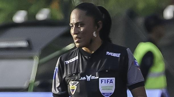La réferi ecuatoriana Mónica Amboya, quien trabajó en el Sudamericano Sub 20 en Argentina, se refirió a su actualidad
