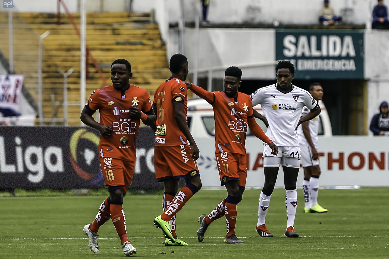 Jonathan Borja, figura del duelo entre El Nacional y Liga, valoró el trabajo de la plantilla roja