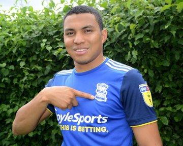 Jefferson Montero fue anunciado como refuerzo del Birmingham City