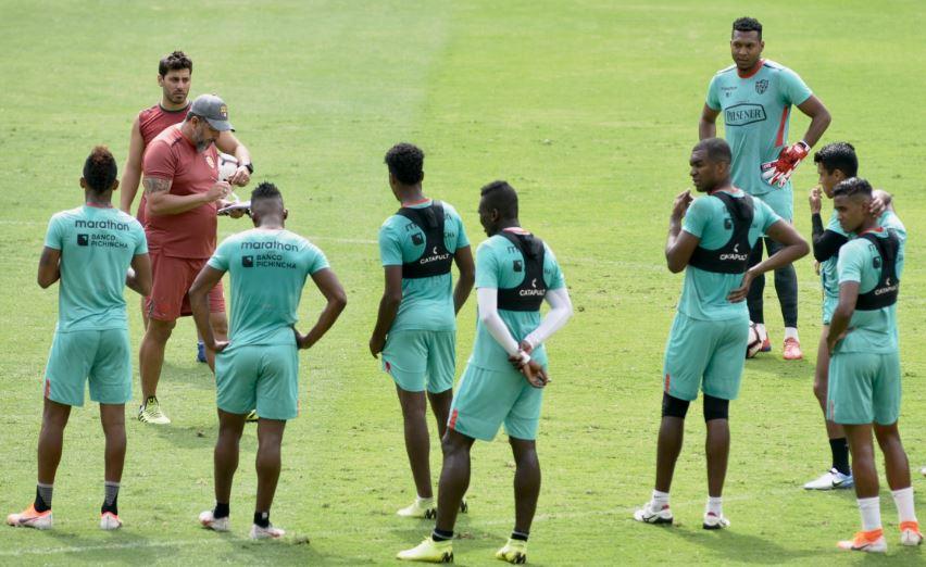 Leonardo Ramos indicó que hay cierto desgaste en su plantilla y se refirió a la situación de Jonathan Álvez, Damián Díaz y Gabriel Marques