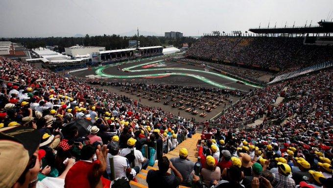 El Gran Premio de México, que se corrió por primera vez en 1962, comenzó una tercera etapa en México como parte del campeonato de Fórmula Uno en el año 2015