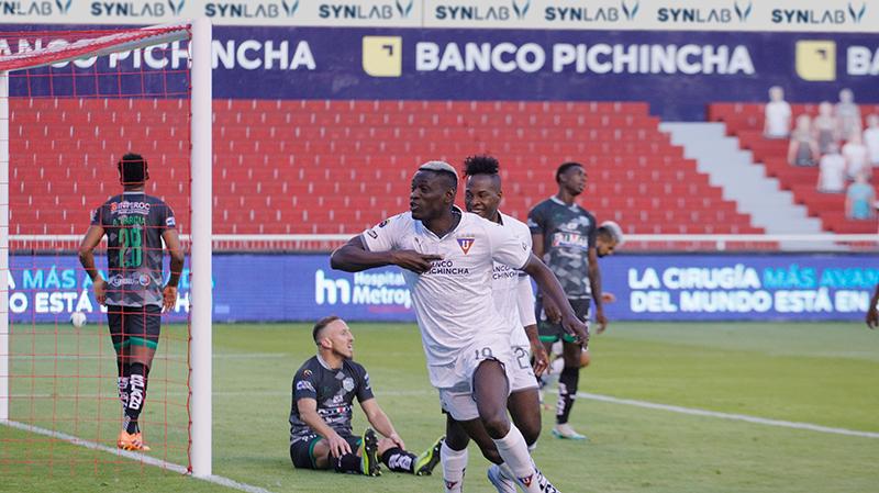 El delantero colombiano sigue en racha y es el máximo goleador de la Liga PRO