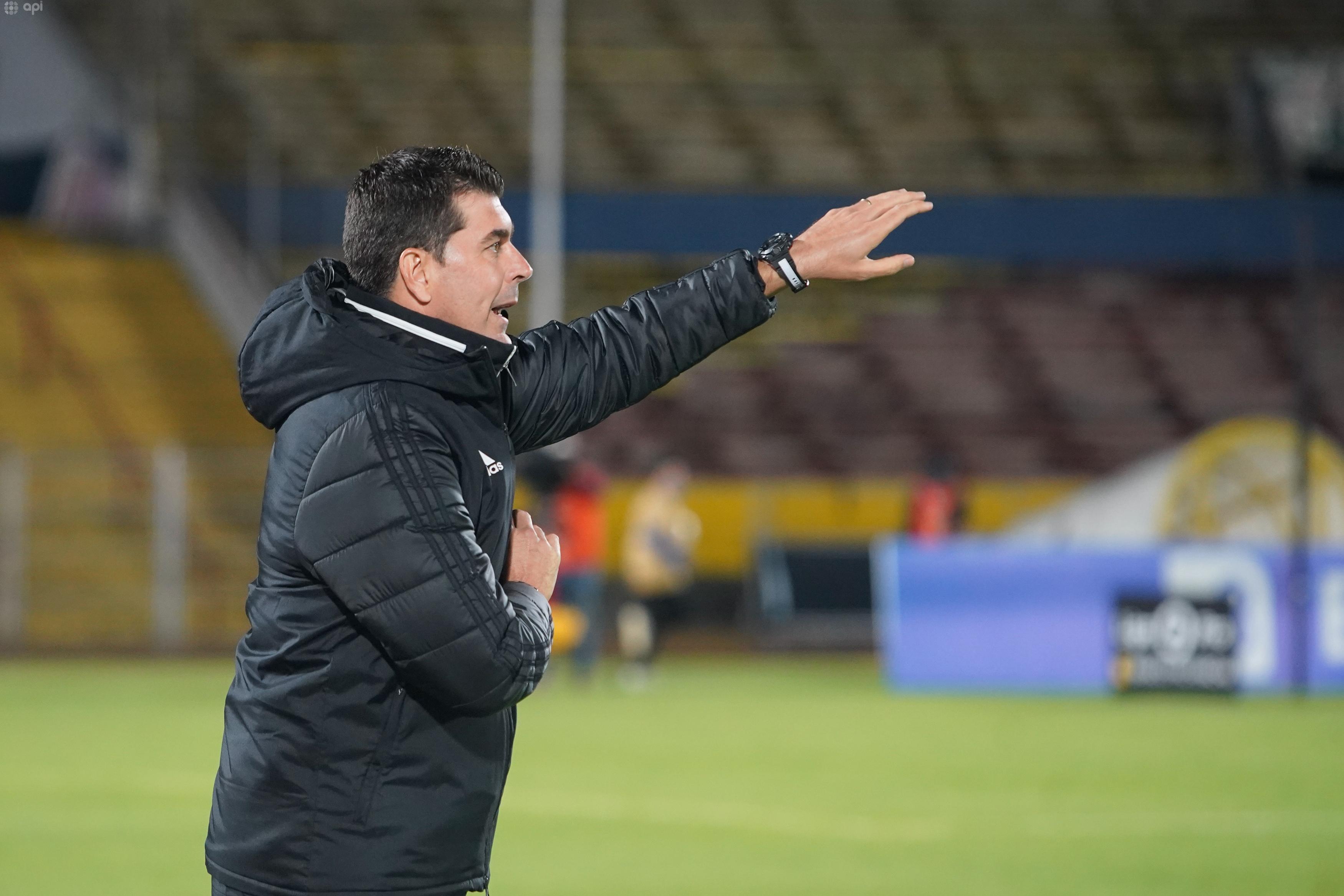 Ismael Rescalvo analizó la derrota ante El Nacional y se refirió al compromiso de sus jugadores