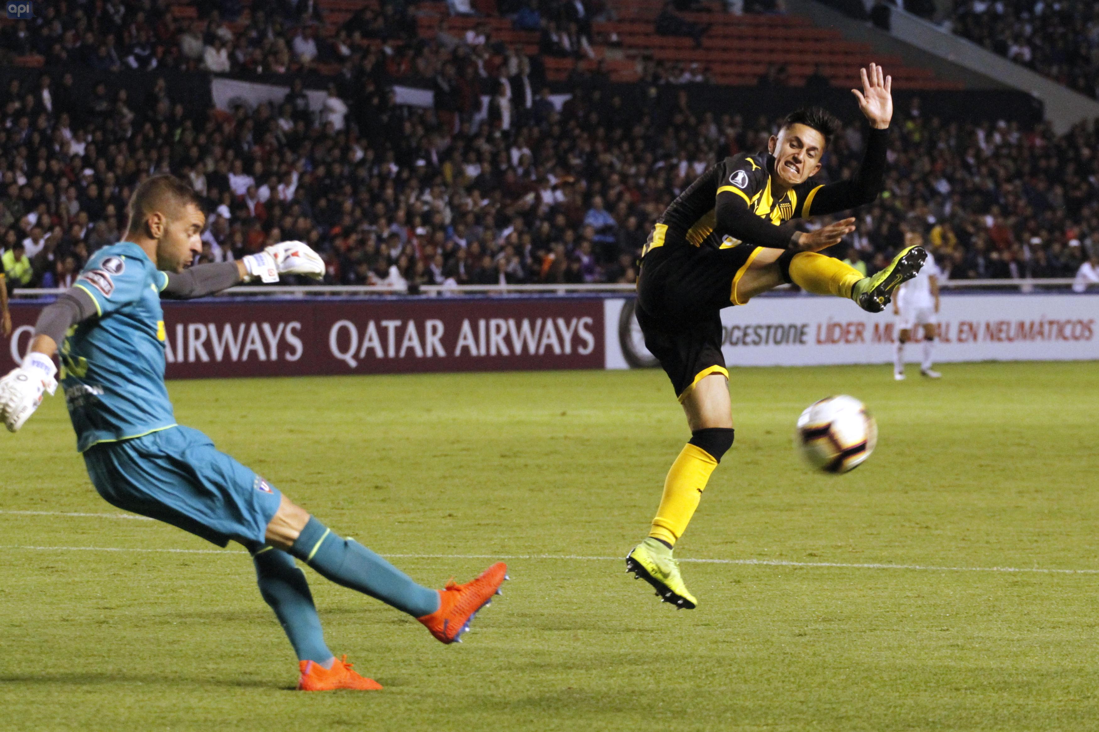 Adrián Gabbarini aceptó la superioridad de Flamengo y dijo que la 'U' luchará por un puesto en los octavos de fin de la Copa