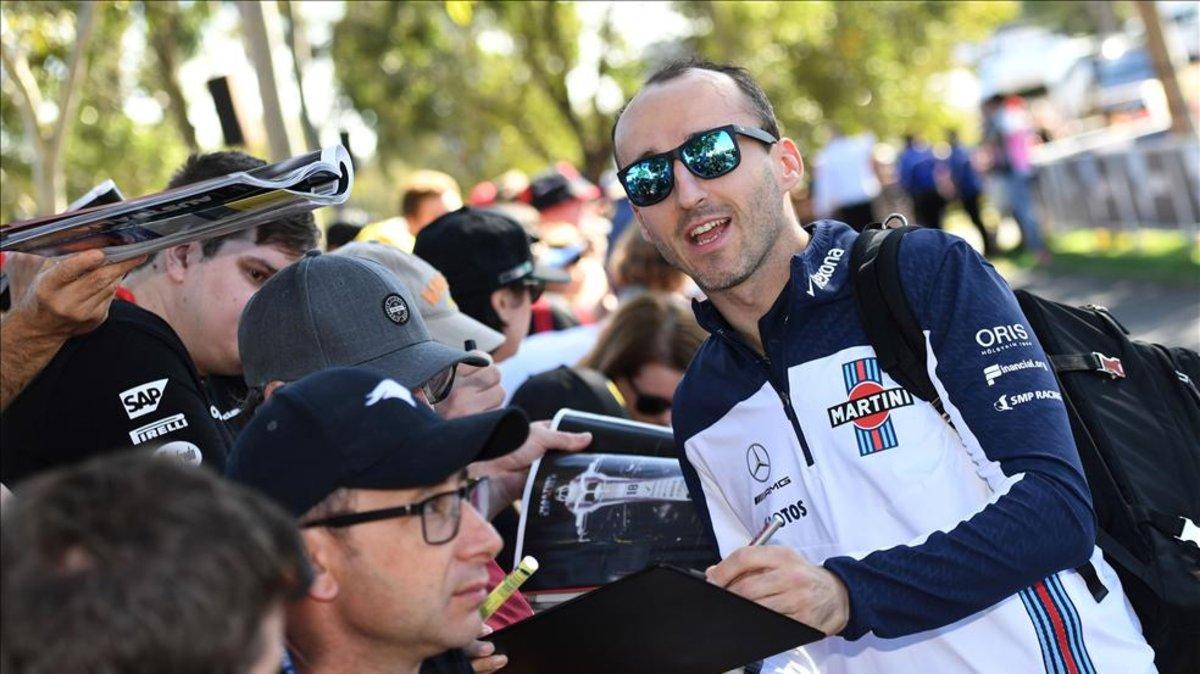 El polaco, de 34 años, compitió en Fórmula Uno entre 2006 y 2010 en los equipos Sauber y Renault