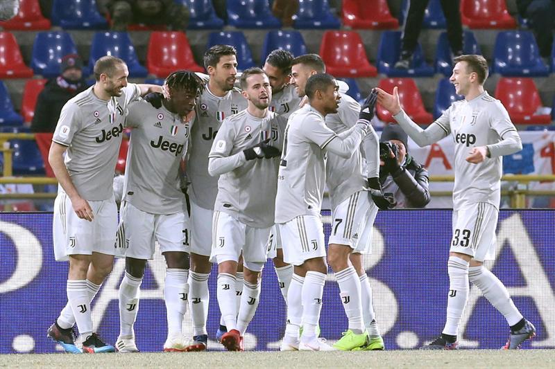 Además, el 2x0 sobre Bolonia asegura a la Juve su lucha firme al quinto título consecutivo de la liga italiana