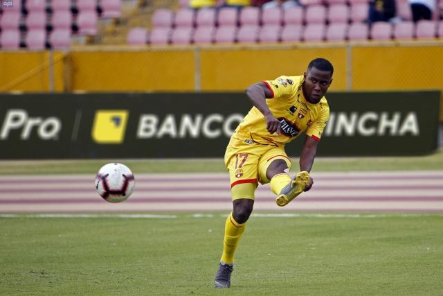 Marcos Caicedo adelanta su despedida de Barcelona, al parecer el jugador no seguirá bajo la nueva directiva del club